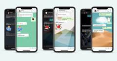 WhatsApp iPhone应用程序的新个性化选项